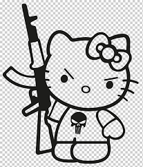 Hello Kitty Decal Sticker Die Cutting Plastic Hello Kitty Drawings White Hand Textile Png Klipartz