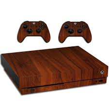 Xbox One X Wood Grain Skin Decal For Console And Controllers Etsy