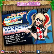 Pin En Fiestas Dc Superhero Girls