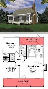 small house cool house plan 26434