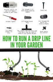 drip line irrigation diy for a home