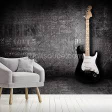 electric guitar wallpaper mural