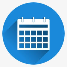 Transparent Booking Icon Png - Calendar Icon Png Blue, Png ...