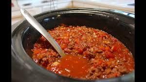 crockpot chili recipe slow cooker