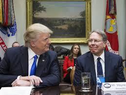 How NRA CEO Wayne LaPierre became Trump ...