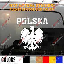Polska Decal Sticker Polish Eagle Coat Of Arms Of Poland Polski Car Trunk Vinyl Die Cut You Choose Size And Color Decal Sticker Sticker Eagleeagle Sticker Aliexpress