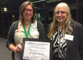 Dr Adele Wilson honoured with prestigious Winifred Curtis Award ...