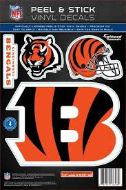 Fathead Cincinnati Bengals Logo Wall Decal Dick S Sporting Goods