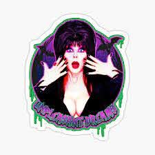 Elvira Stickers Redbubble