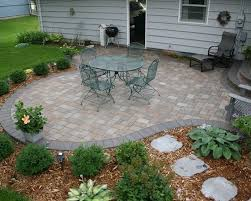traditional patio pavers ideas also