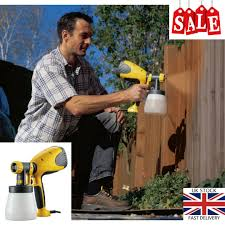 Wagner Wood Metal Electric Paint Sprayer Fence Furniture Decking Interior Home 4004025082825 Ebay