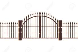 Graveyard Gate And Door Icon Vector Illustration Design Royalty Free Cliparts Vectors And Stock Illustration Image 129984643