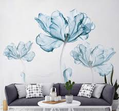 Amazon Com Derun Trading Wall Stickers Murals Home Decor Home Decor Accents For Living Room Flower Wall Decals Home Improvement Paint Wall Treatments Wall Decals Murals Decor Vinyl Removable Mural Paper