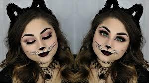 easy y cat halloween makeup tutorial