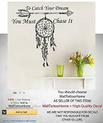Wall Decals Quote To Catch Your Dream Vi Buy Online In Bahamas At Desertcart