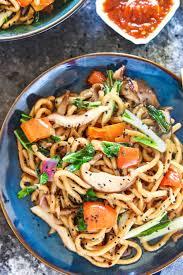 vegan stir fry udon noodles 30 minute
