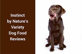 instinct by nature s variety dog food