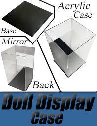 center doll display cases center