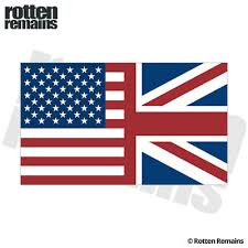 Britain Union Jack Flag Decal United Kingdom British Car Vinyl Sticker Evm