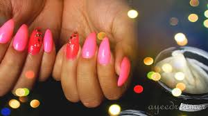 diy acrylic nail designs