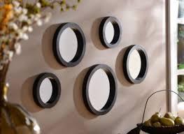 circle mirror set of 5 mirror wall
