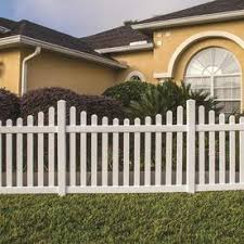Upc 040933144051 Freedom Contractor Coventry Scallop White Dog Ear Picket Vinyl Fence Panel Comm Upcitemdb Com