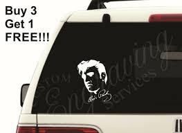 Elvis Presley 4 25 X5 25 Car Window Decal Sticker Truck Laptop Jeep For Sale Online