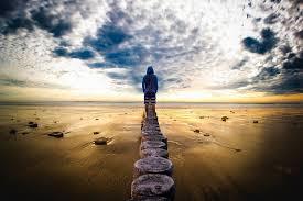 Hombre Horizonte Paisaje - Foto gratis en Pixabay