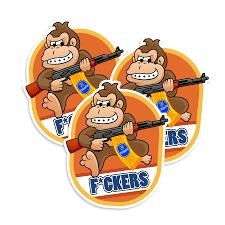 Donkey Kong Chiquita Vinyl Sticker Neo Tactical Gear