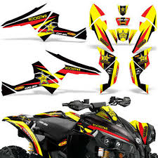 Decals Brp Renegade Can Am Graphics Kit 1190red Decals Emblems