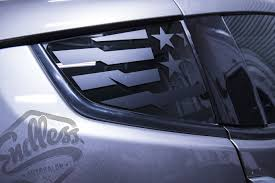 Z33 Z34 Gymkhana Quarter Window Flag Decal Endless Autosalon