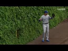 Mlb Stuck In The Fence Youtube