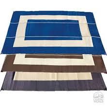 deluxe reversible patio mat helps