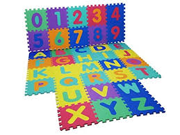 Child Alphabet Floor Mat Jigsaw Numbers Buy Online In Cambodia At Desertcart