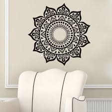 Mandala Wall Stickers Decoration Removable Vinyl Art Wall Decal Indian Yoga Namaste Home Decor Wall Murals Wall Sticker For Kids Wall Sticker Home From Moderndecal 9 5 Dhgate Com