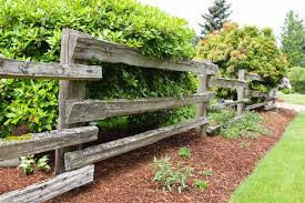 Wooden Fence Designs That Lend A Rustic Look To Your Garden Gardenerdy