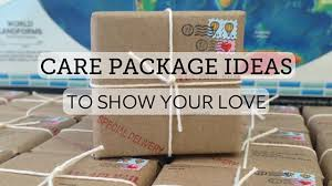 care package ideas to show your love