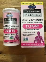 dr formulated probiotics once daily
