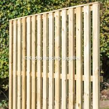 Timber Paisade Fence Panel Kudos Fencing Supplies Uk Delivery