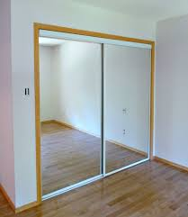 new white glass sliding closet doors in