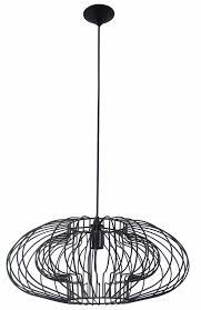 geometric pendant light black 500mmØ
