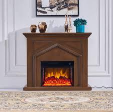 Electric fireplace ElectricSun brown W120xH102cm ElectricSun.de ✔️