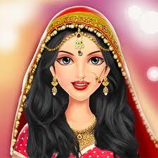 indian wedding face makeup games