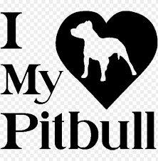 Heart Dog Puppy Sticker Car Window Vinyl Decal Pitbull Png Image With Transparent Background Toppng