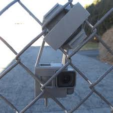 Gopro Hero Session 4 5 Chain Link Fence Secure Mount Clamp Etsy