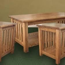 mission coffee tables craftsman arts