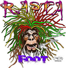 Car Window Rasta Foot Yeti Bigfoot Marijuana Sasquatch Pot Decal Herb Smoke Bigfoot Gifts Products Toys Merchandise Your Bigfoot Store More