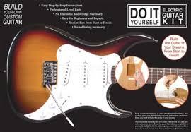 axl do it yourself electric guitar ki