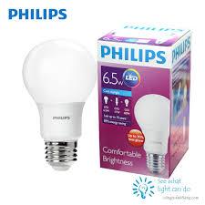 Bóng đèn LED bulb PHILIPS 6.5W E27 - Công ty Ánh Sáng