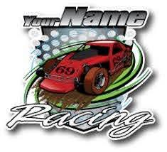Racing Window Decals For Teams Dirt Street Or Drag